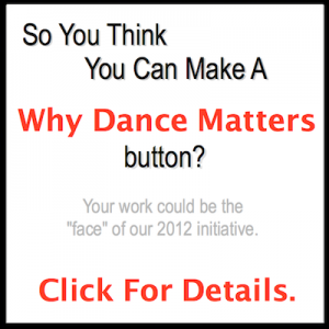 Submit your badge for Why Dance Matters